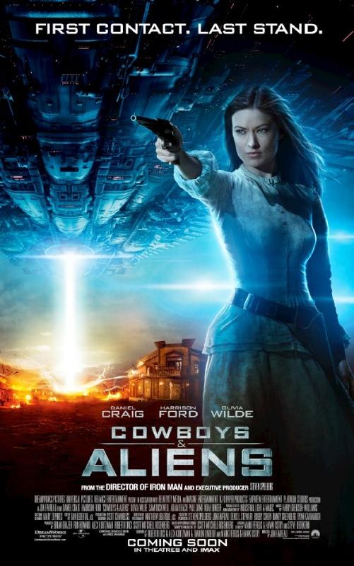 Hermosa y como toda dama Olivia Wilde lista para patear Aliens