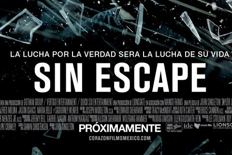 Taylor Lautner y Lily collins se quedan Sin Escape