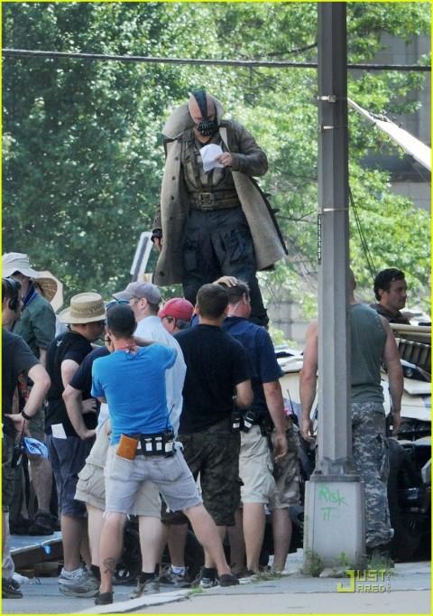 Tom Hardy Bane The Dark Knight Rises