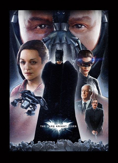 Dark Knight Rises Fan Poster