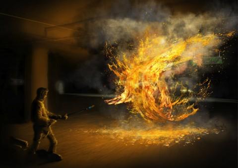 The Darkest Hour Flamethrower