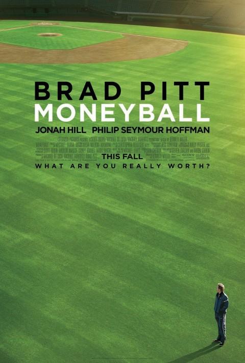 Moneyball Poster Brad Pitt