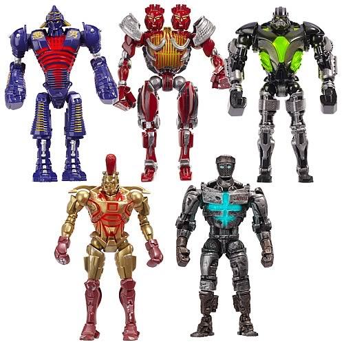 Los Robots de Gigantes de Acero