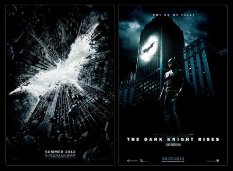 El Caballero de la Noche Asciende con estos pósters