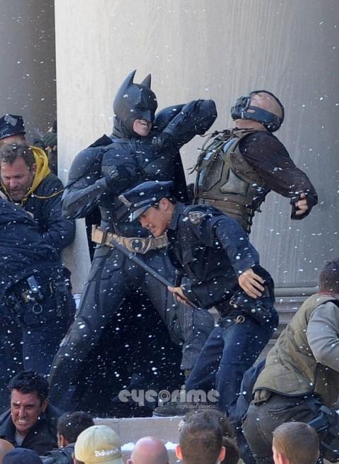 Batman Bane Joseph Gordon Levitt Tom Hardy Christian Bale