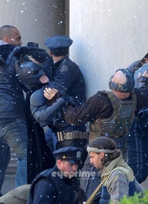 Batman Bane Tom Hardy Christian Bale