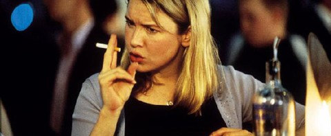 Bridget Jones Fumando
