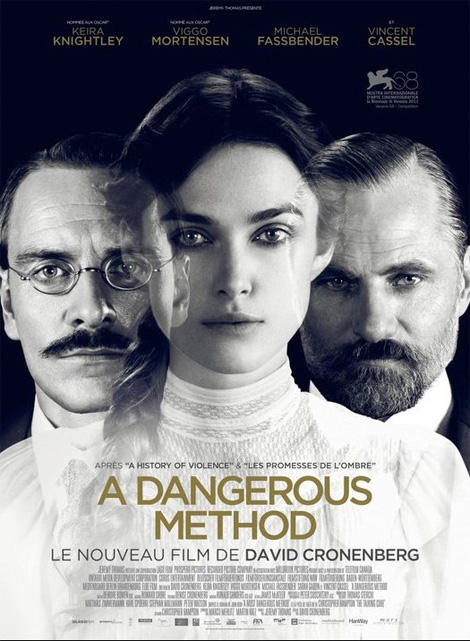 dangerous method david cronenberg poster