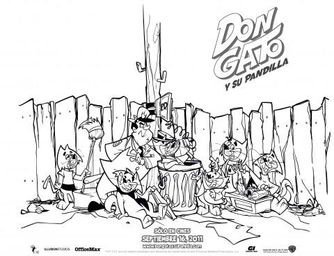 Don Gato y Su Pandilla... con el colado del Oficial Matute