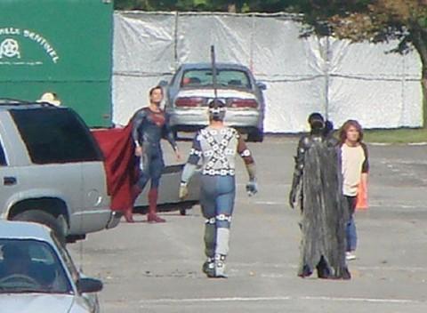 Hay viene Superman