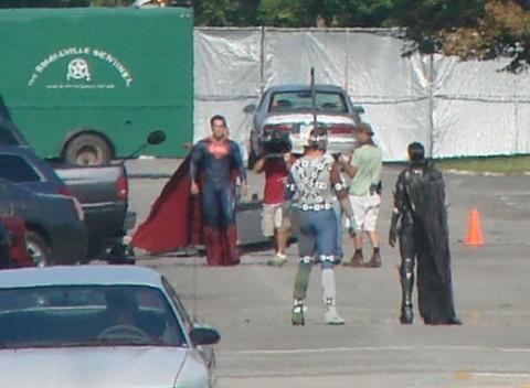 Así es Superman sin calzones aunque usted no lo crea