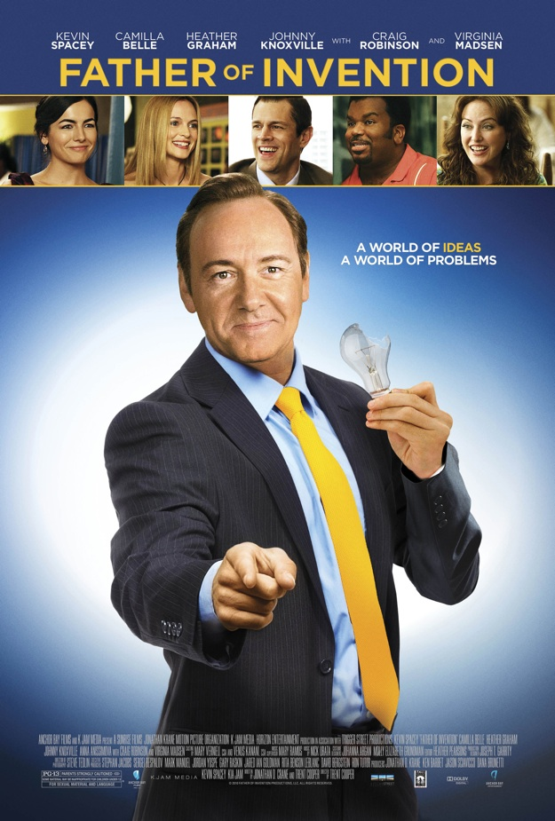 Poster de Father of Invention Kevin Spacey