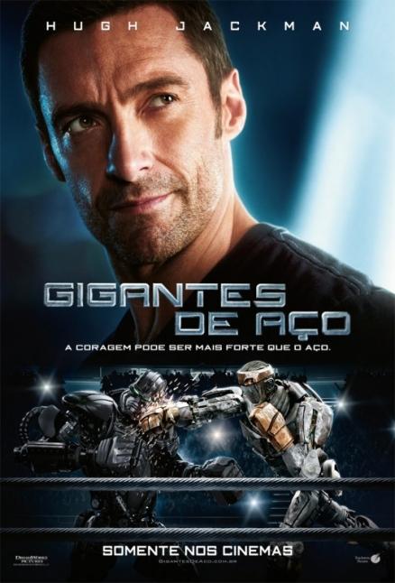 gigantes de acero poster Gigantes De Acero (Real Steel) [Español Latino] [2011]   1 LINK