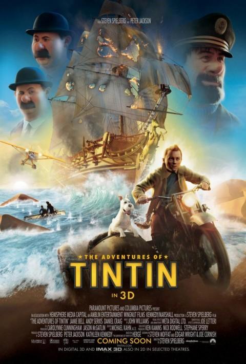 Poster Las Aventuras de Tintin