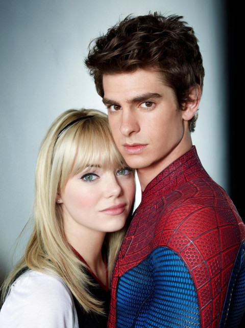 Peter Parker Gwen Stacy Andrew Garfield Emma Stone