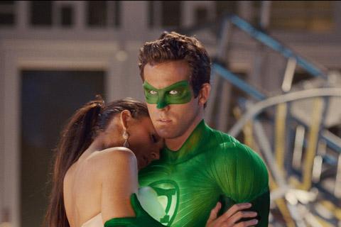 Linterna Verde Ryan Reynolds Blake Lively