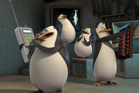Madagascar Pinguinos