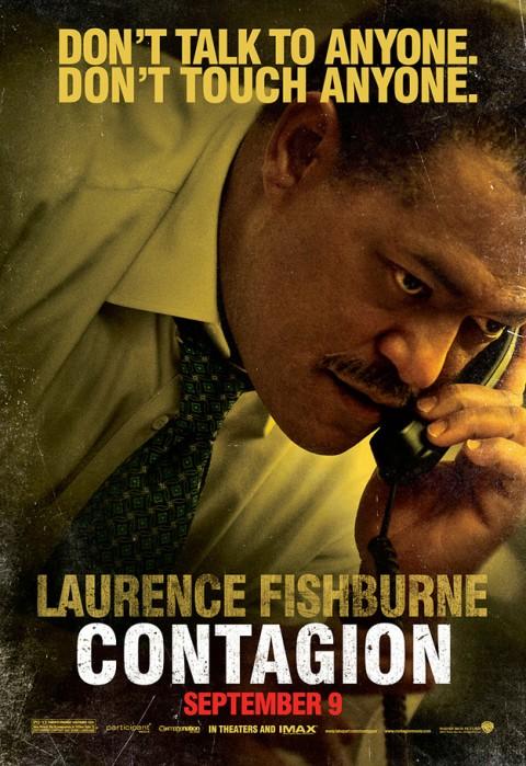 Lawrence Fishburne Contagio Poster