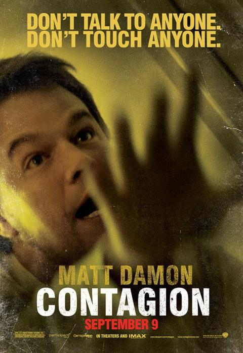 Contagio Matt Damon Poster