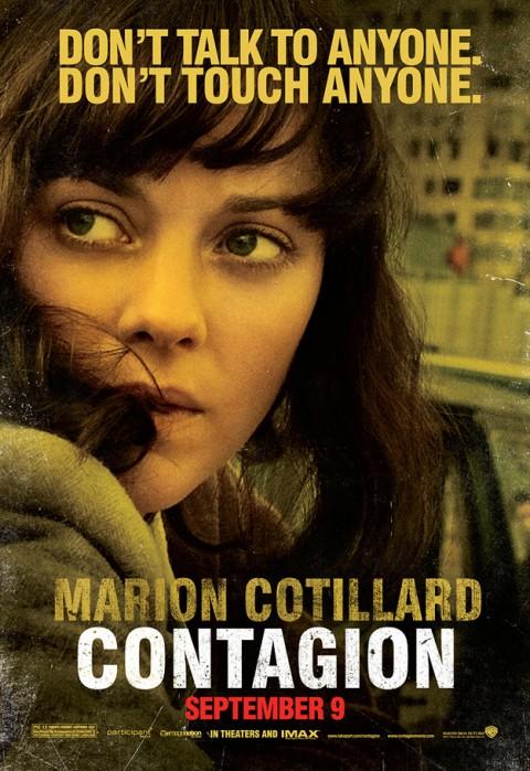 Contagio Marion Cotillard