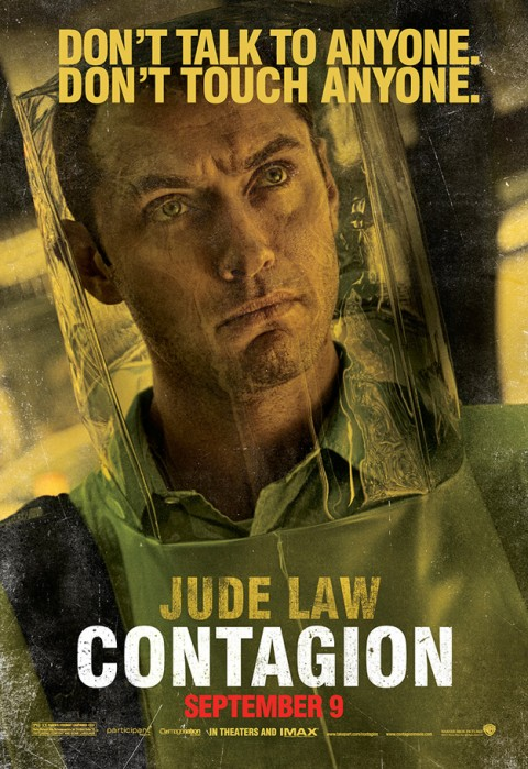 Contagio Jude Law Poster
