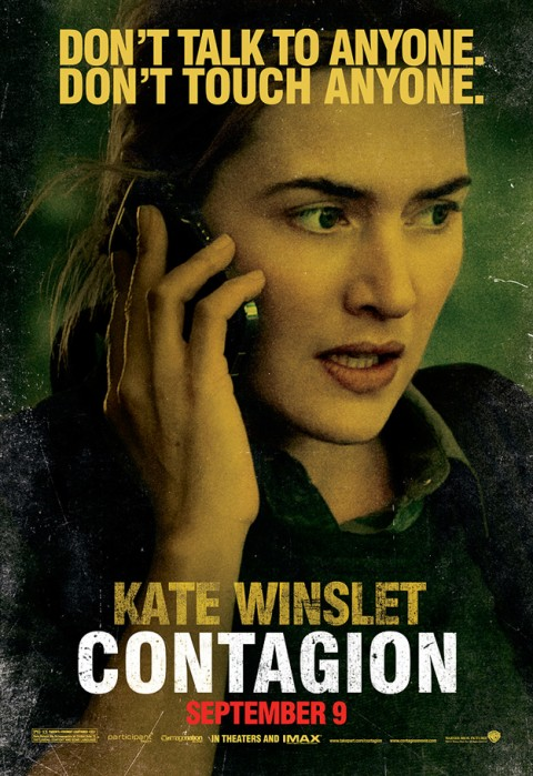 Contagio Kate Winslet Poster