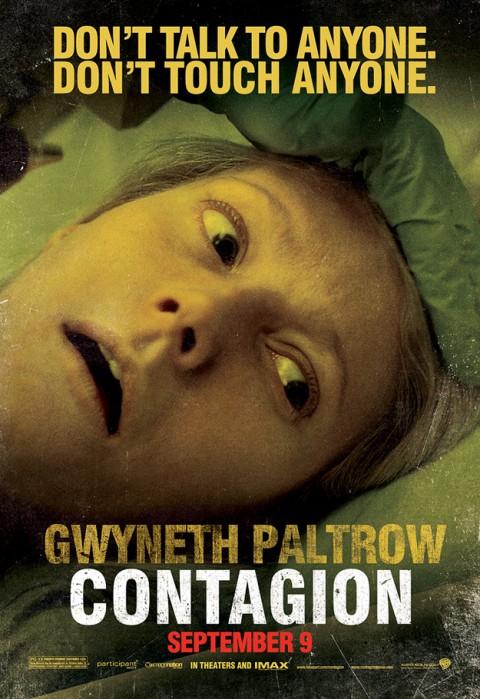 Gwyneth Paltrow Contagio Poster
