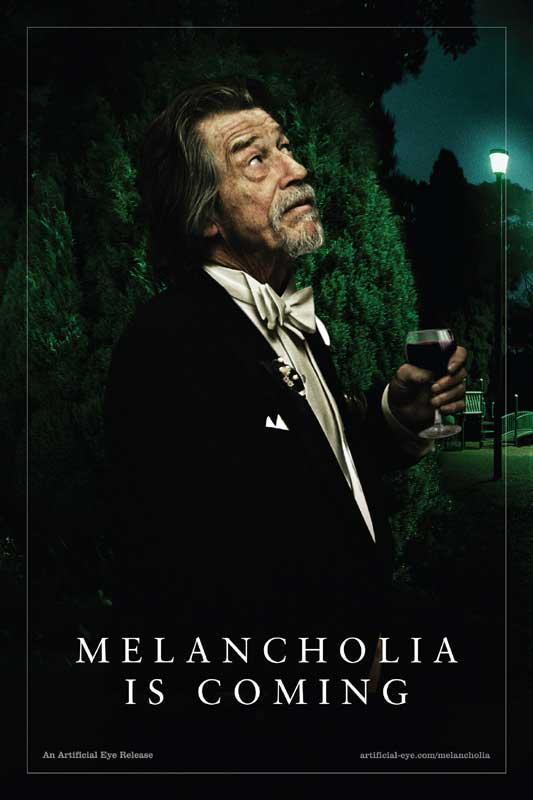 John Hurt Melancholia