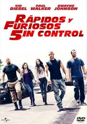 Rapidos Y Furiosos 5in Control DVD