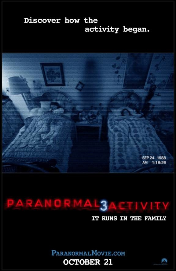 actividad paranormal 3 poster