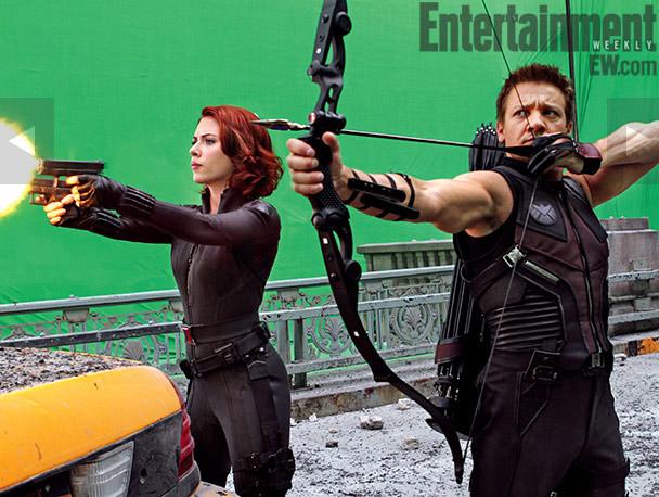 avengersewphotos2 - The Avengers llegan con muchas nuevas fotos