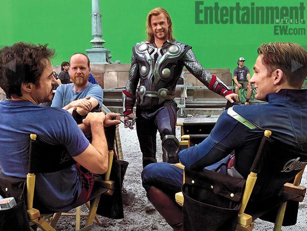avengersewphotos3 - The Avengers llegan con muchas nuevas fotos