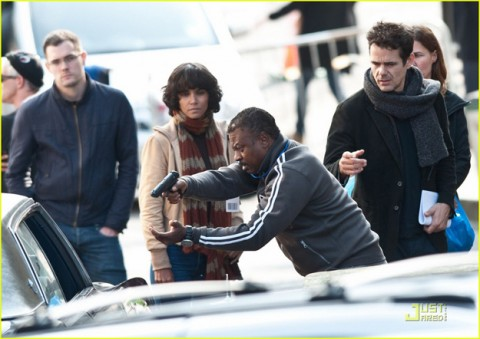 """Halle Berry and Keith David join a star-studded cast on the location set of """"Cloud Atlas,"""" a new film shooting in Glasgow, Scotland made to resemble San Francisco"""