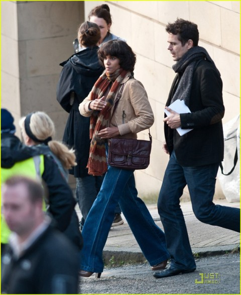 """Halle Berry and director Tom Tykwer join a star-studded cast on the location set of """"Cloud Atlas,"""" a new film shooting in Glasgow, Scotland made to resemble San Francisco"""