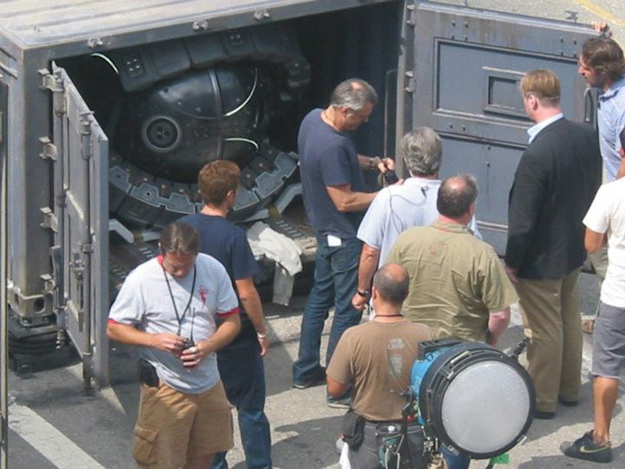 Dark Knight Rises Set Angeles