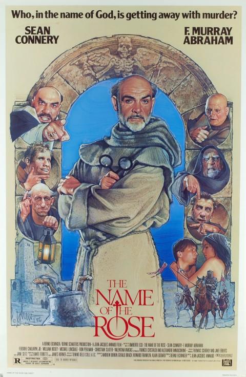 Poster El Nombre de la Rosa