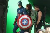 los vengadores the avengers rodaje fotos 01 203x136 - Los Vengadores: fotos de los heroes juntos...