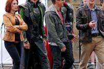 los vengadores the avengers rodaje fotos 24 203x136 - Los Vengadores: fotos de los heroes juntos...