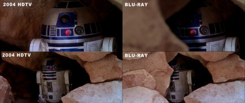 r2d2 star wars blu ray