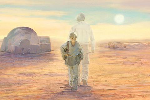Star Wars en Blu Ray