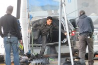 total recall colin farrel set