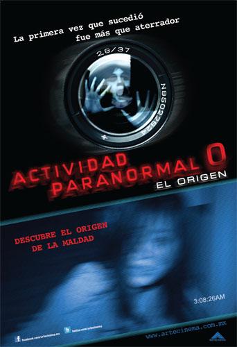 Actividad Paranormal 0 poster