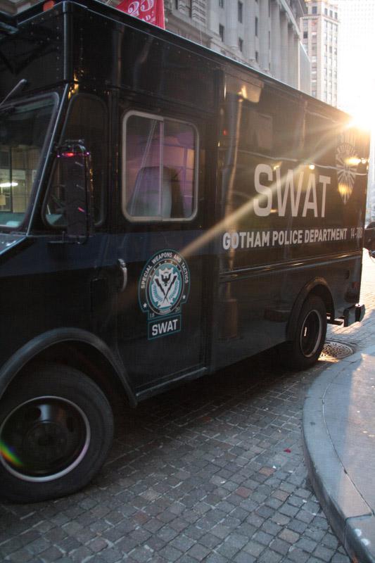 Batman NY SWAT dark knight rises