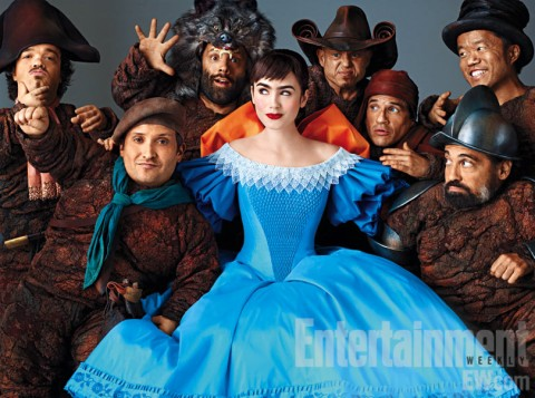 blancanieves lily collins