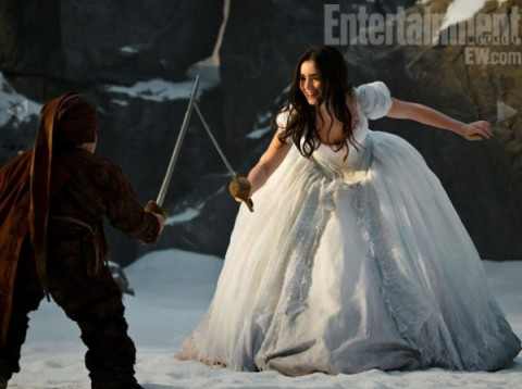 Blancanieves lilly collins