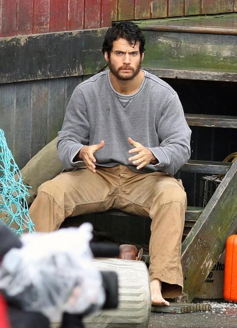 Clark Kent con Barba???