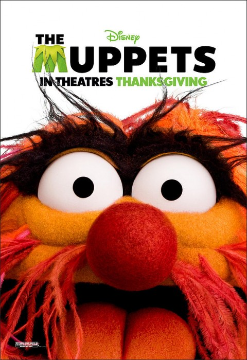 los muppets animal