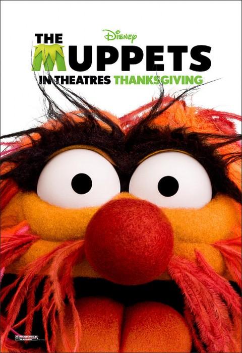 los muppets animal