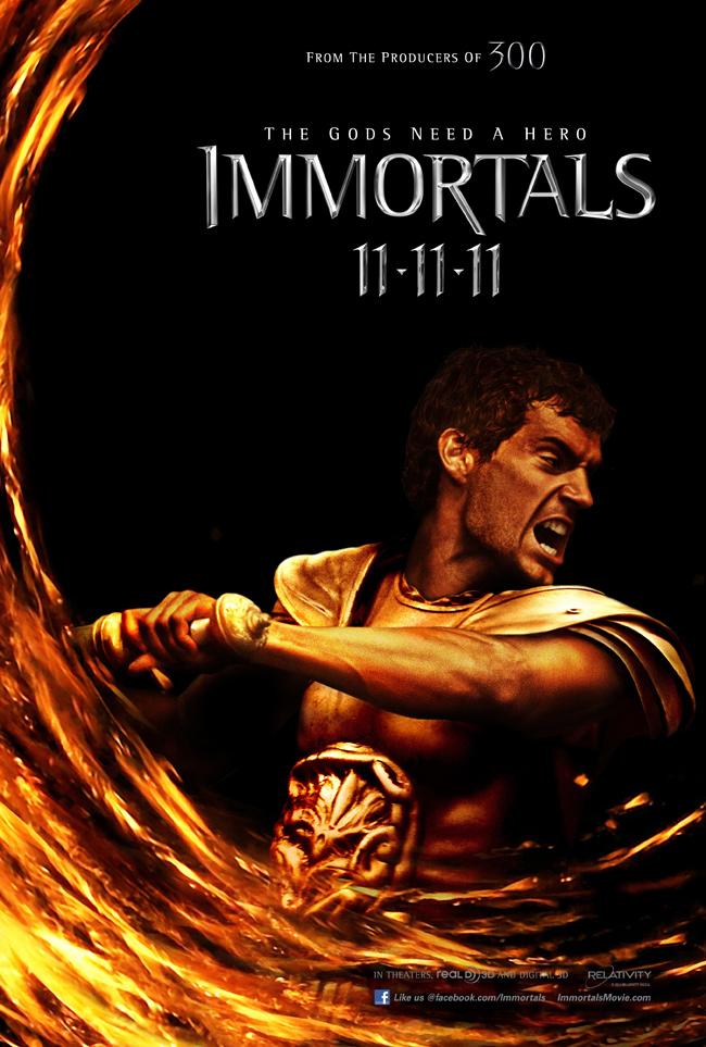 henry cavill theseus inmortales
