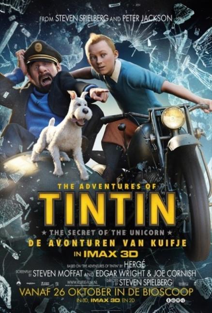 Tintin listo para la Aventura